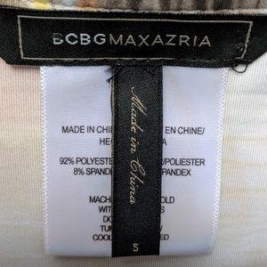 BCBGMaxAzria Tops - EUC BCBG MAXAZRIA MULTI COLOR TOP SIZE SMALL